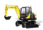 Thumbnail ROBEX R55W-7A MINI EXCAVATOR WORKSHOP SERVICE MANUAL