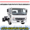 Thumbnail FUSO FM FN FK TRUCK 2003-2010 WORKSHOP REPAIR SERVICE MANUAL