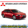 Thumbnail MITSUBISHI LANCER SPORTBACK 2009-13 WORKSHOP SERVICE MANUAL