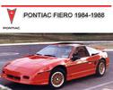 Thumbnail PONTIAC FIERO 1984-1988 WORKSHOP REPAIR SERVICE MANUAL