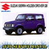 Thumbnail SIERRA HOLDEN DROVER QB 1985-1987 WORKSHOP SERVICE MANUAL
