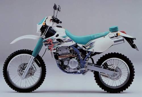 kawasaki klx 250 250r 1993 1996 bike workshop service manual down