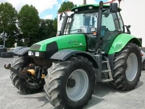 deutz fahr agrotron 130 140 155 165 workshop service manual downl