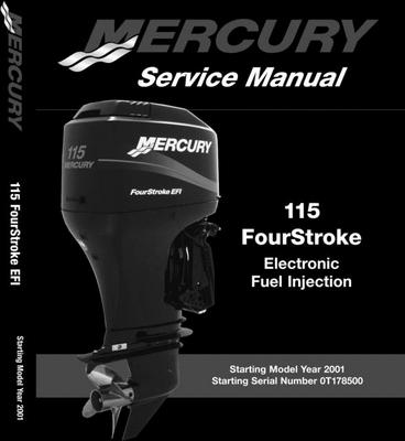 mercury mariner 115hp efi 4 stroke service manual download manu rh tradebit com