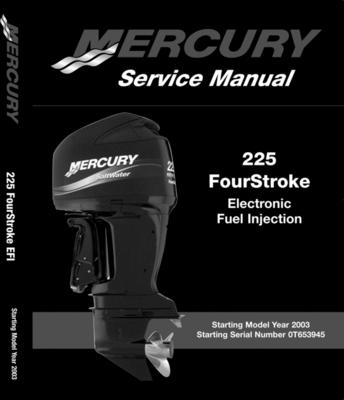 225 hp efi  4 stroke