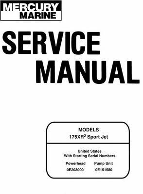 mercury mariner 175xr2 sport jet service manual download manuals rh tradebit com Clymer Manuals Banshee Clymer Freeride