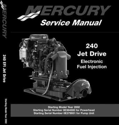 Pay for Mercury/Mariner 240Hp EFI Jet Drive