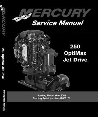 mercury m2 jet drive service manual