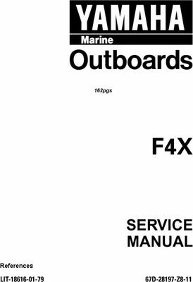 yamaha outboard f4x service manual download manuals. Black Bedroom Furniture Sets. Home Design Ideas
