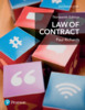 Thumbnail Law of Contract (Foundation Studies in Law Series)