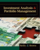 Thumbnail Investment Analysis and Portfolio Management 10th Edition