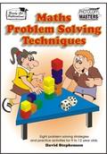 Thumbnail Maths Problem Solving Techniques (NZ Version)