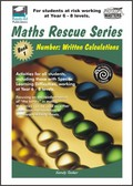 Thumbnail Maths Rescue    Bk 1 Number: Written Calculations  (NZ Version)