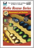 Thumbnail Maths Rescue    Bk 6 Measurement and Statistics  (NZ Version)