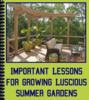 Thumbnail Important Lessons for Growing Luscious Summer Gardens - PLR