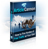Thumbnail Article Cannon, Fire hordes of free traffic to your site!!!