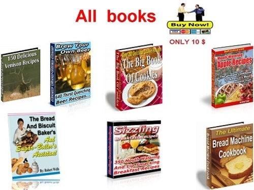 Pay for Collection of the best cookbooks Part 1