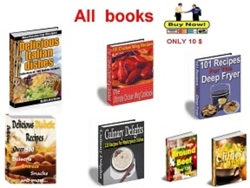 Pay for Collection of the best cookbooks Part 3 - pdf book