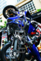 Thumbnail Yamaha Blue Tilted Sports Bike