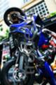 Thumbnail Yamaha Blue Tilted Sports Bike