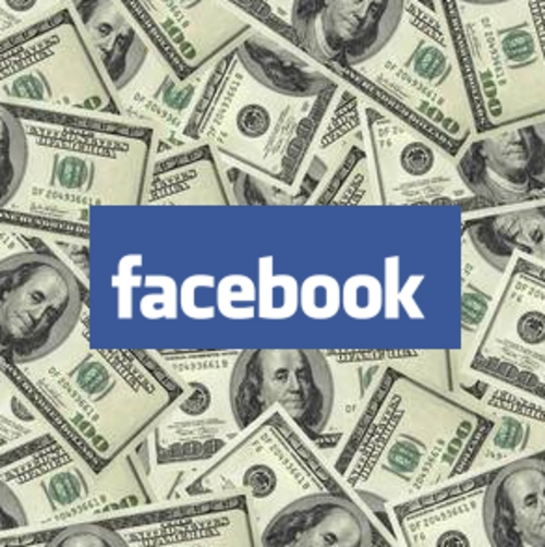 Pay for 500 dollars daily on facebook