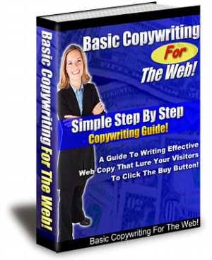 Pay for Basic CopyWriting for Web