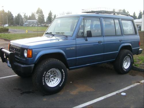 1990 owners mitsubishi montero manual