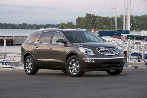 2009 buick enclave owners manual