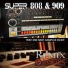 Thumbnail SUPER 808 & 909 (ONE SHOT SAMPLES) 16 bit