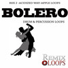 Thumbnail Bolero drum & percussion loops(Wav, Rex2, Apple Loops)
