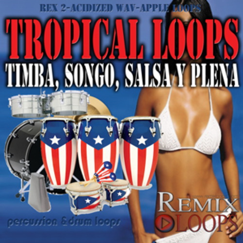 Pay for Timba, Songo,Salsa, Plena loops (Apple Loops, Rex2, Wav)