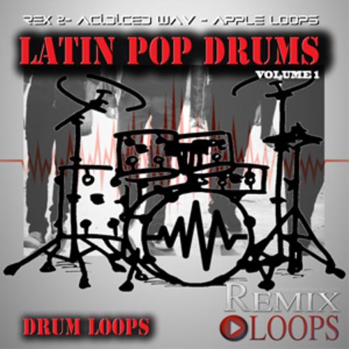 Pay for LATIN POP DRUM LOOPS(apple loops,rex 2, wav)