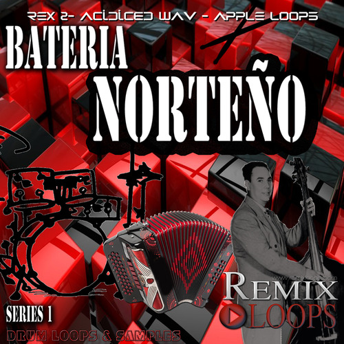 Pay for Bateria Norteño Drum Loops, samples and construction kits.