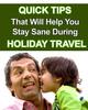 Thumbnail Holiday Travel Quick Tips!