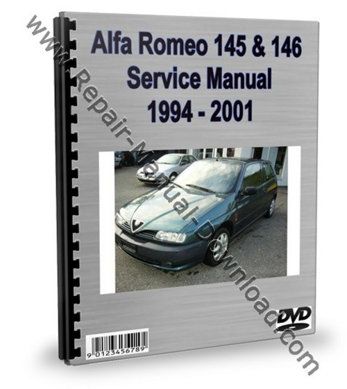 Alfa Romeo 145  U0026 146 Service Repair Manual Workshop Download