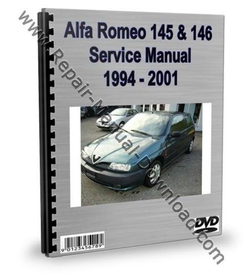 Pay for Alfa Romeo 145 & 146 Service Repair Manual Workshop Download