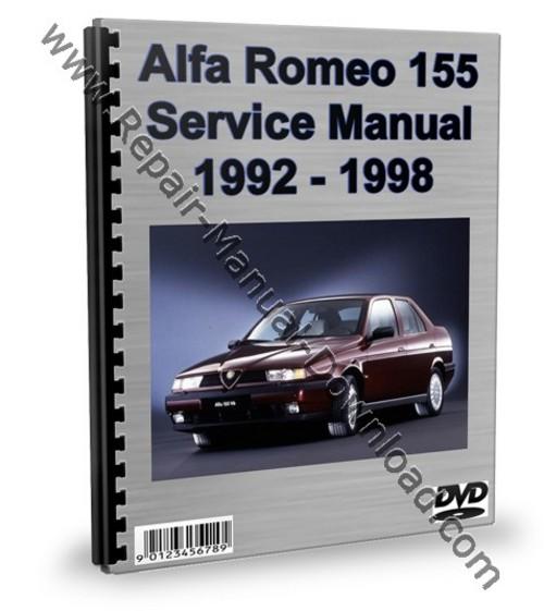 alfa romeo 155 service repair manual workshop download download m rh tradebit com alfa romeo 155 service manual alfa romeo 155 service manual