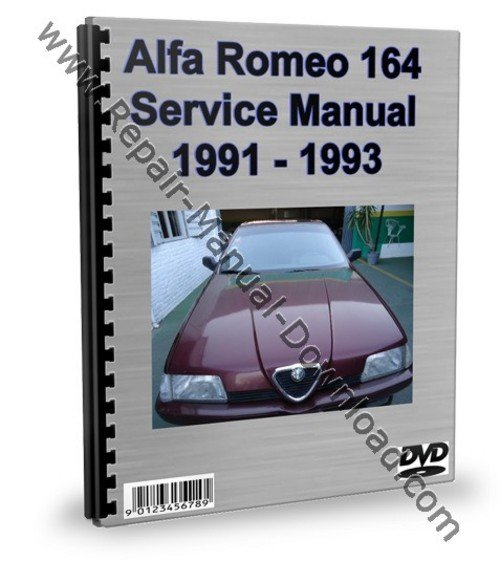 alfa romeo 164 service repair manual workshop download. Black Bedroom Furniture Sets. Home Design Ideas