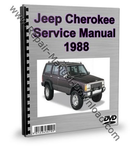 jeep cherokee 1988 service repair manual workshop download downlo rh tradebit com 1998 Jeep Cherokee 1987 Jeep Cherokee