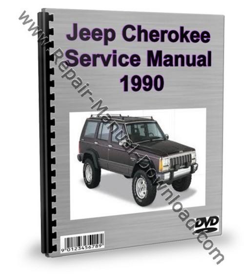 jeep cherokee 1990 service repair manual workshop download downlo rh tradebit com Jeep Liberty Repair Guide Jeep Cherokee Repair Manual