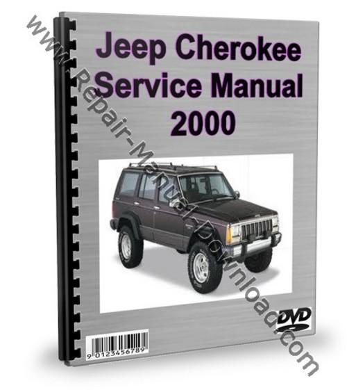 2000 jeep cherokee repair manual
