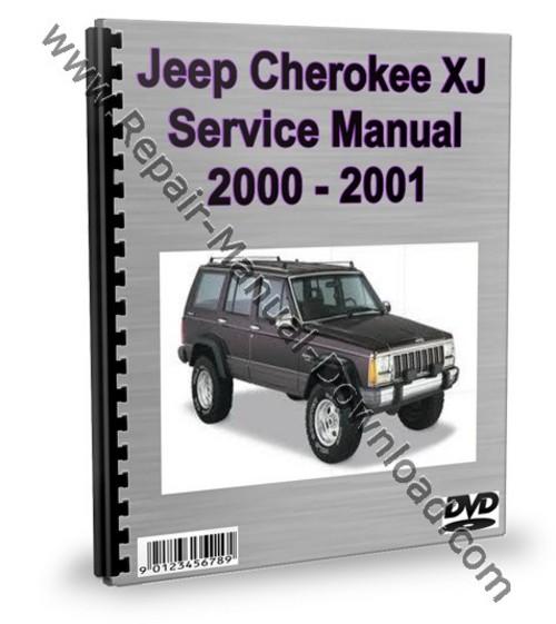 jeep cherokee xj 2000 2001 service repair manual. Black Bedroom Furniture Sets. Home Design Ideas
