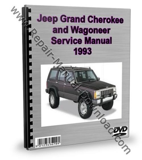 Pay for Jeep Grand Cherokee & Wagoneer 1993 Service Repair Manual