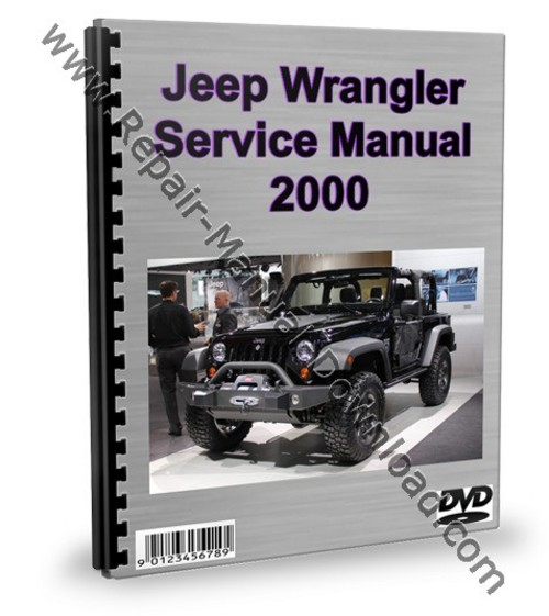 Pay for Jeep Wrangler 2000 Service Repair Manual Workshop Download