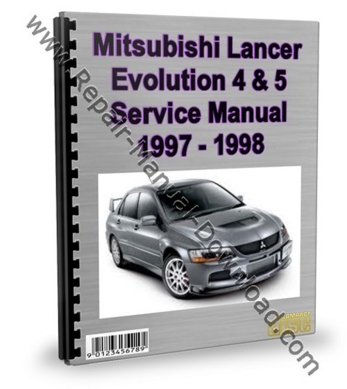 mitsubishi lancer evolution 4 5 service repair manual download rh tradebit com mitsubishi lancer 1998 service manual Mitsubishi Lancer 1997
