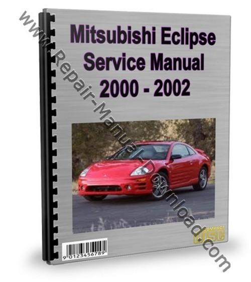 mitsubishi eclipse 2000 2002 2001 service repair manual downloa rh tradebit com 1997 Eclipse 1998 Eclipse