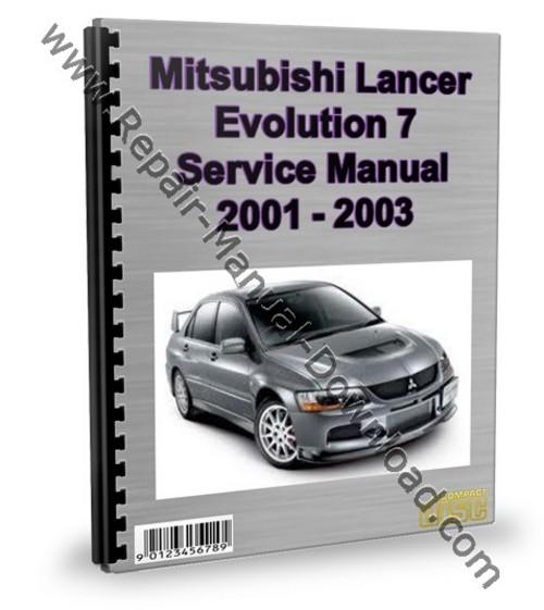 mitsubishi lancer evolution 7 evo service repair manual download rh tradebit com 2000 Lancer 2001 lancer service manual