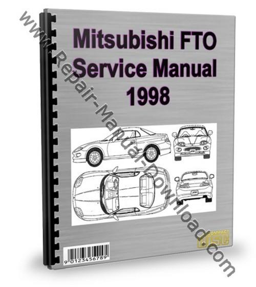 mitsubishi fto 1998 service repair manual download download manua rh tradebit com Mitsubishi FTO Engine Mitsubishi FTO Back