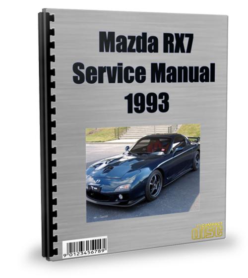 service manual  repair manual 1993 mazda rx 7 free