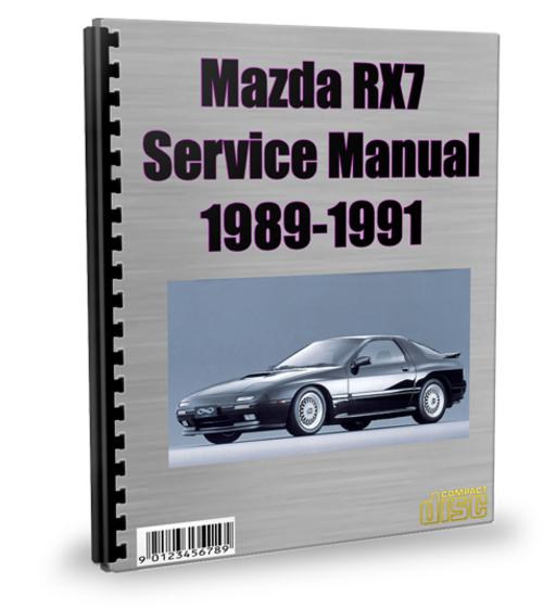 Mazda Rx7 1989-1991 Service Repair Manual Download